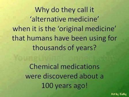 alternative chemical medications