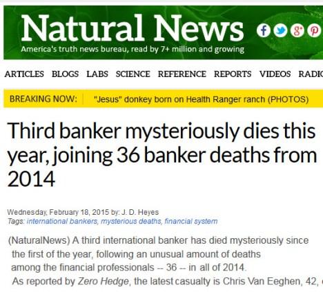 bankers die natural news