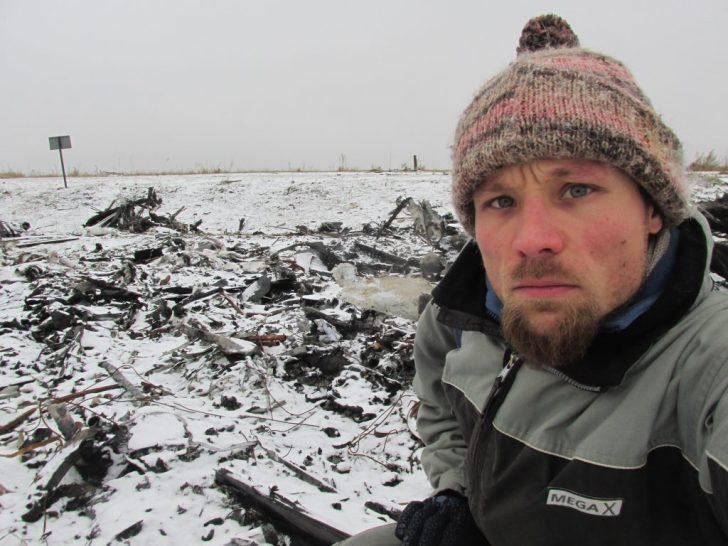 De Duitse MH17-onderzoeker Billy Six
