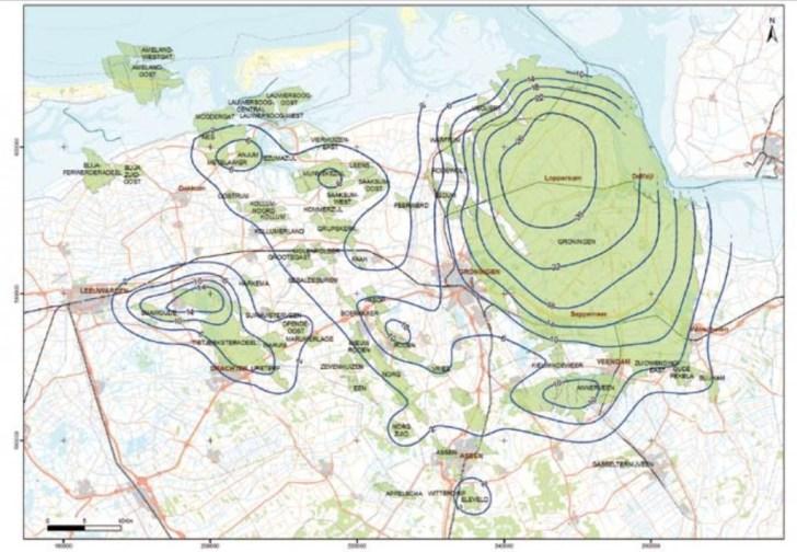 bodemdaling Groningen