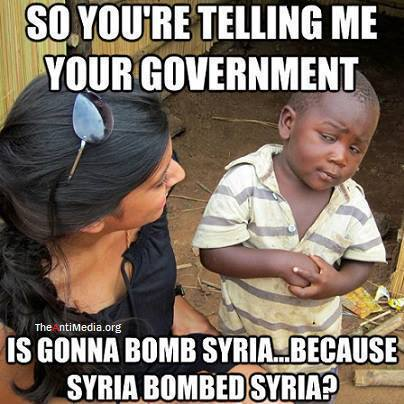 bombing syrie