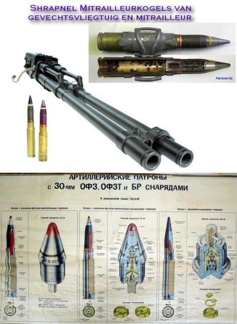 bullets shrapnel mitrailleur vliegtuig