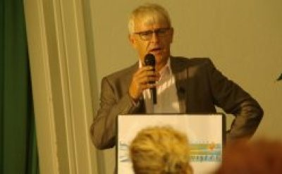Jeroen Nobel, burgemeester van Aalsmeer.
