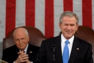 Cheney en Bush | EPA/TIM SLOAN