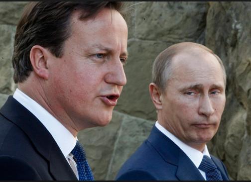 Laat Cameron misschien eerst eens bewijzen waarom hij denkt dat Putin schuldig is..?