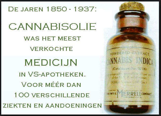 cannabisolie VS begin 1900