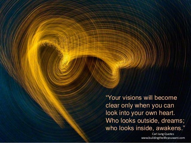 carl jung who looks inside