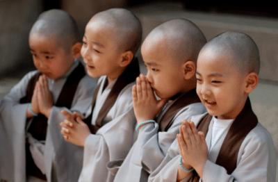 children buddha