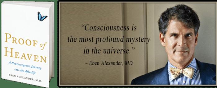 Het is Amerikaanse Eben Alexander, die -door zijn wetenschappelijk achtergrond- baanbrekend werk heeft verricht op het gebied van BDE. Zijn boek is een mijlpaal in de reeks van BDE-ervaringen. (klik voor artikel)