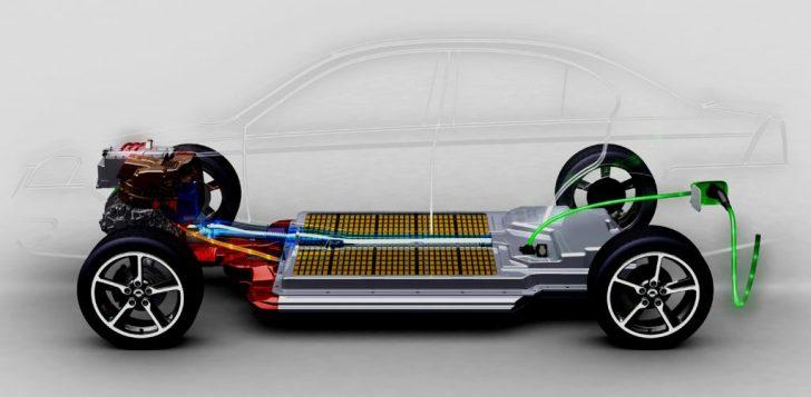 De veelbesproken batterijen van een elektrische auto. Veel minder schadelijk als al die roddelpraatjes willen doen geloven..!