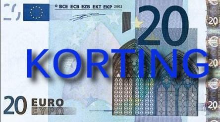 euro 20 korting