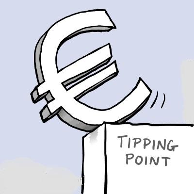 euro tipping point cartoon