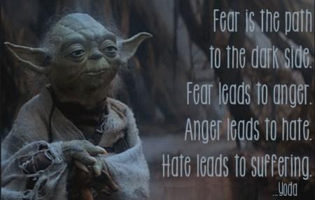 fear yoda
