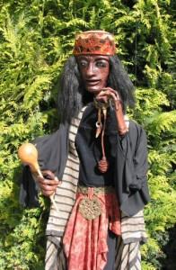 De Sjamaan, marionet van Jan van Erkelens