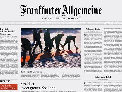 De wereldberoemde krant waar het NRC nog een puntje aan kan zuigen. Althans, vóórdat Ulfkotte met zijn uitlatingen kwam..