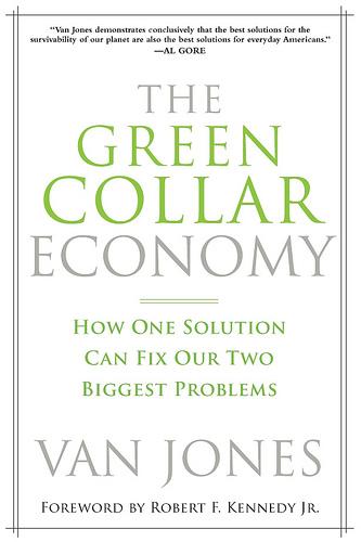 Het boek dat Van Jones op de kaart zette..