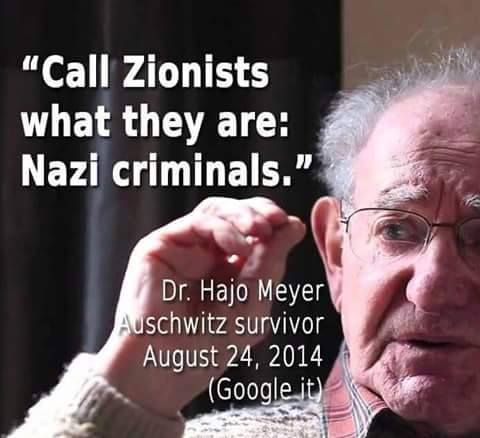 hajo meyer zionist nazi