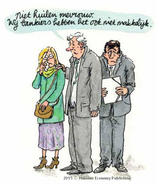 hanneke bankiers copyright Humane Economy Publishers