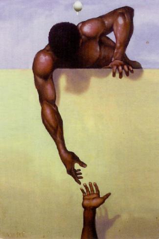 Helpende hand van 'hoger hand'?