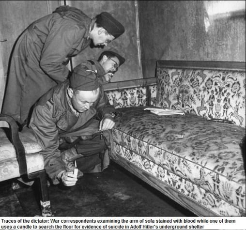 hitler bunker meubels