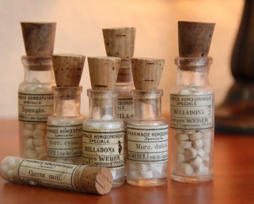 homeopathie flesjes