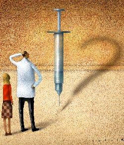 Als het voor veel artsen al één groot vraagteken is, wát er eigenlijk in die spuit zit? Gewoon maar blind vertrouwen..? Of jezelf informeren over de achtergronden van de 'noodzakelijke' vaccinaties.