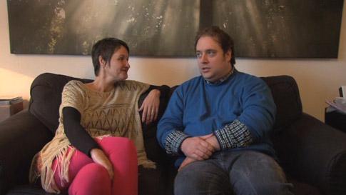 Robbert van den Broeke in gesprek met graancirkelonderzoekster Janet Ossebaard