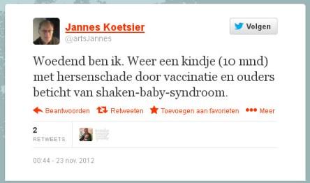 jannes koetsier SBS tweet
