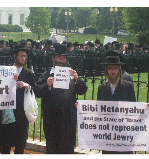 jews are not zionists