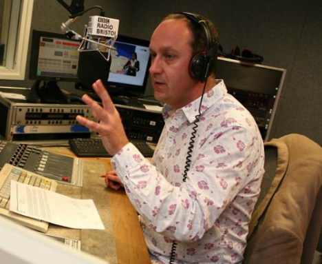 BBC-journalist John Darvall
