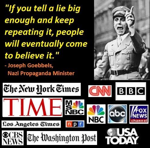 Wat is er feitelijk veranderd sinds deze fanatieke Nazi zijn manipulaties op de vrije pers meer als regel zag, dan als 'invloed' op de vrije meningsuiting..!?