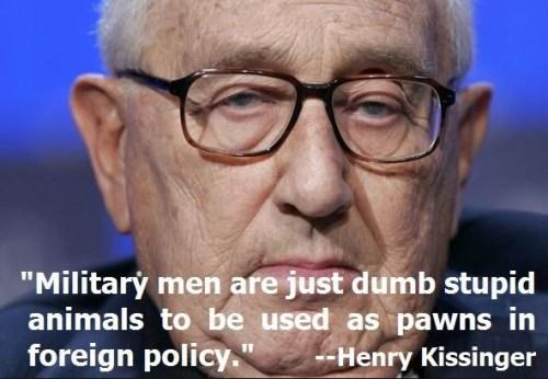 kisssinger military men