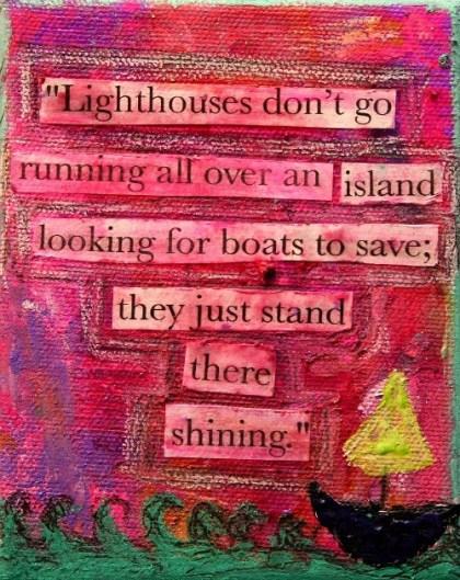 lighthouses spreuk