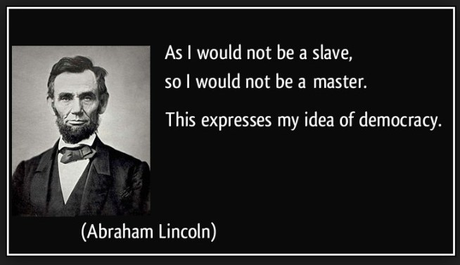 lincoln slave master