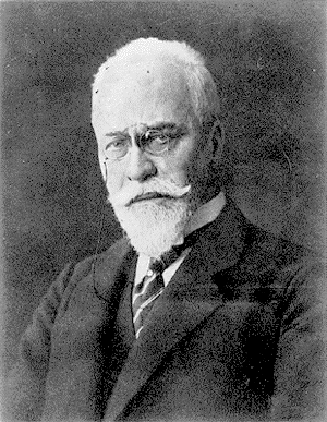 Hermann Minkowski (1864-1909), who developed the theory of four-dimensional space-time that laid the mathematical foundation for relativity theory.)