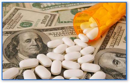 Een steeds dodelijker combinatie:Money and Medicines..
