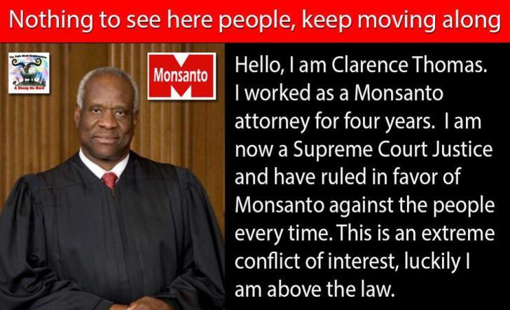 En ook Amerikaanse rechters lijken een regelrechte sponsor te hebben in de VS. De naam van die sponsor..? Begint met een 'M' en eindigt met een 'O'..