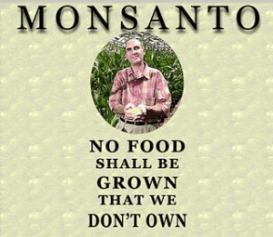 Het doel van Monsanto is duidelijk. Over lijken desnoods.