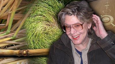 Dr. Nancy Talbott van het BLT-researchteam. Wetenschappelijk graancirkelonderzoekster