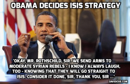 obama isis weapons