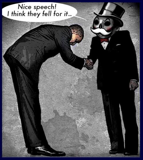 obama krachten achter de schermen