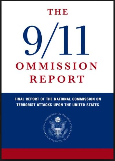 'Ommision' staat voor 'verzuim'. Een gefotoshopte cover van het 'officiële onderzoek naar 9/11'. Wat de onderzoekscommisie verzuimt te vertellen, is dát wat cognitieve dissonantie jouw ook al niet wil doen geloven..!