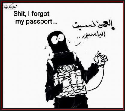 paspoort terrorist