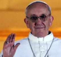 """De nieuwe paus, een Argentijnse Jezuïet. """"Bidt voor mij, kies mij""""... Zijn eerste woorden om wereldwijd de focus en intentie op je te krijgen..?"""