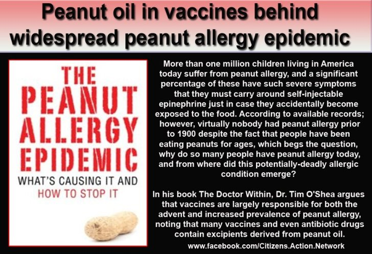 pinda allergie