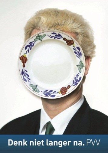 pvv wilders bord