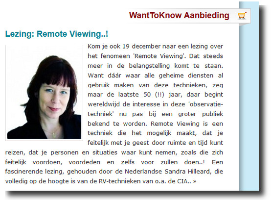 remote viewing lezing