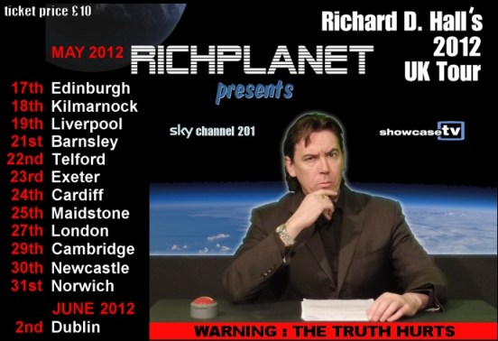 richard d hall richplanetTV tour2012