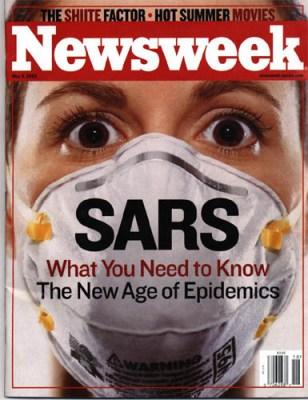 Sars werd als een ware epidemie gepresenteerd