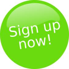 sign up teken button